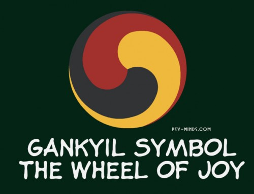 Gankyil Symbol – The Wheel of Joy